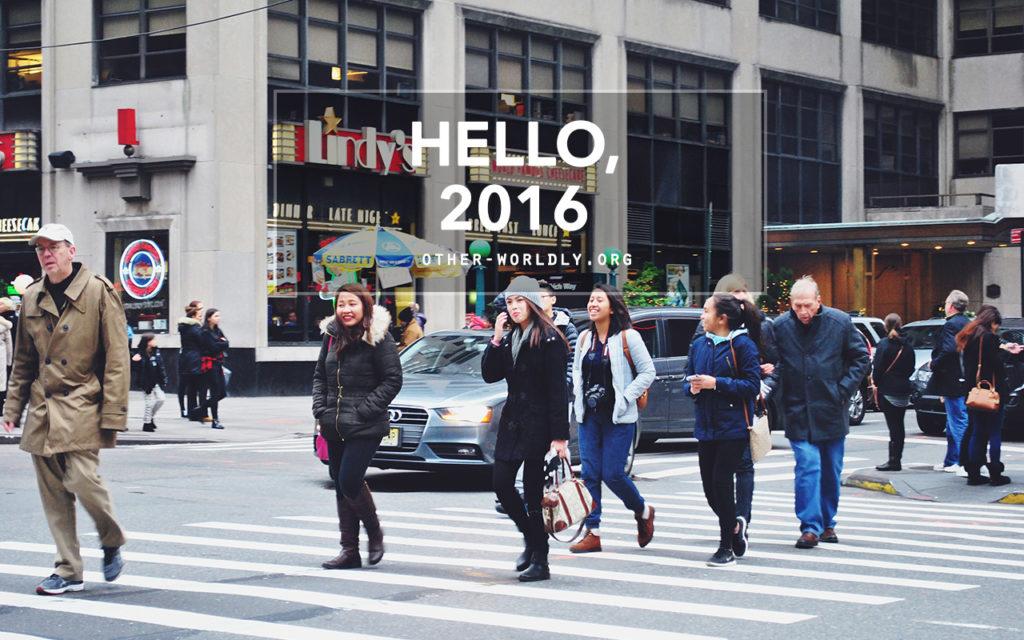 Hello, 2016